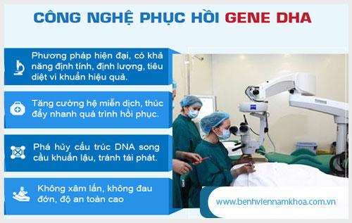 Phương pháp DHA điều trị dương vật chảy mủ hiệu quả