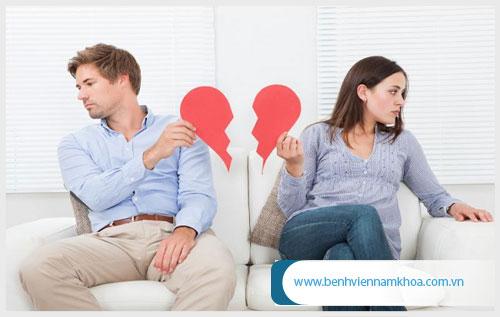 Liệt dương ảnh hưởng đến hạnh phúc vợ chồng